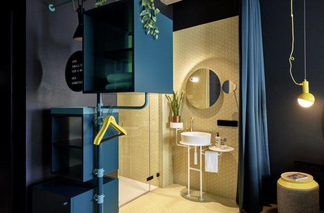 25hours Hotel The Circle, interior, bathroom